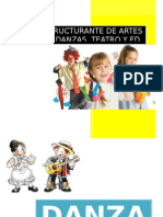 Plan Estructurante Danzas 2015 Primer Periodo
