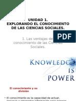 Explorando El Conocimiento de Las Ciencias Sociales