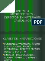 Defectos de materiales cristalinos