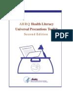 AHRQ Health Literacy Universal Precautions Toolkit 2015.pdf