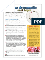 Smoke Alarm Tips Spanish