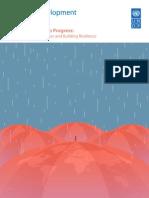 Reporte de desarrollo humano 2014