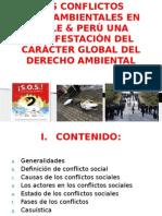 Los Conflictos Socioambientales en Chile & Perù