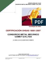 Per-450 15-434 Camet Ohsas