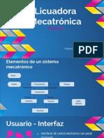 Propuesta de Licuadora Mecatrónica