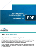 SuperSim Plus, Global GSM Traveling SIM Card