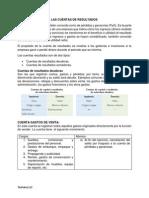 3.3 Clasificación de Las Cuentas Resultados