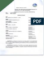 REC Resolution No. 2015-05 (Lobo Agri-Ecotourism Project)