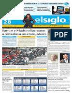 Edicion Impresa El Siglo 280815