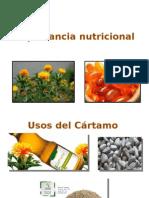 Importancia Nutricional Cártamo
