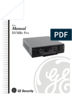 Manual DVR GE