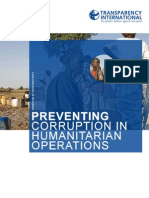 Preventing Corruption in Humanitarian Operations