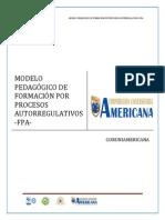 Modelo Pedagogico de Formacion Por Procesos Autorregulativos