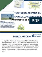 Ultimo Proyecto Urugay energias alternativas