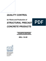 PCI MNL-116-99 Structural QC Manual