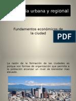 Fundamentos Economicos de Ciudad