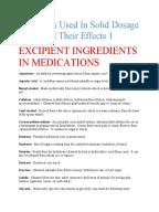 Etoricoxib Drug Monograph