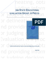 The Penn State Educational Evaluation Group