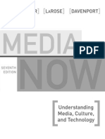 Media Now SAMPLE Understanding Media, Culture, And Technology