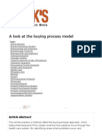 Articles - A Look at the Buying Process Model