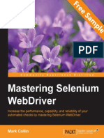 Mastering Selenium WebDriver - Sample Chapter