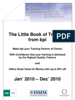 Bpi Training Courses 2010