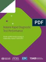 Malaria Rapid Diagnostic