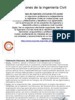 Organizaciones de La Ingeniería Civil
