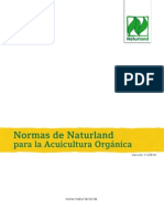 Normas Orgánicas para una camaronera, Naturland. (Trabajo recopilado)