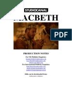 macbeth press kit