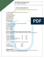 Autoevaluaciones Del Modulo Del Curso de Química General
