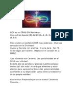 Ritual Para El Portal 8. 8. 8 Gran Portal Del León