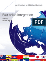 East Asian Integration, edited by Lili Yan Ing