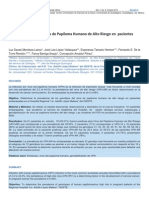 Genotipificacion del VPH de alto riesgo en pacientes embarazadas