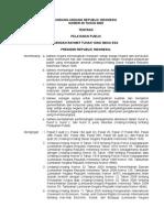 UU_No.25-2009 Tentang Pelayanan Publik