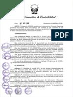 Resolucion Vigencia Nic-Niif Peru 08-2015
