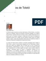Lecciones de Tolstói