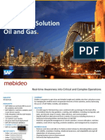 SAP HANA Solution Oil and Gas.