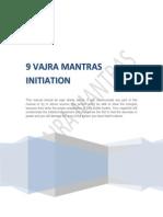 9 Vajra Mantras Initiation