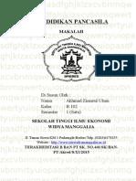 Cover Pendidikan Pancasila