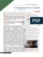 Otocerebral Mucormycosis a Rare Case in a Diabetic