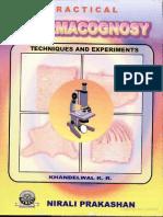 Practical Pharmacognosy Pdf