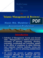Concept of Management in Islam