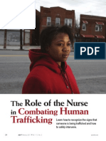The Role of the Nurse in Combating Human.25 1