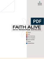 25979199 Faith Alive 2010 Resource Catalog