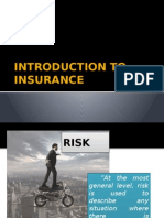 1. Introduction to Insurance