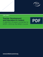 Teacher Development and Education in Context - Papers presented at IATEFL 2010 by BC.pdf
