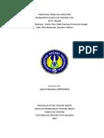 Proposal PI AHMAD
