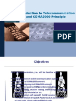 Intro to Telecom and CDMA2000 Principle