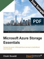 Microsoft Azure Storage Essentials - Sample Chapter